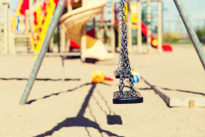difference between swingset and playset